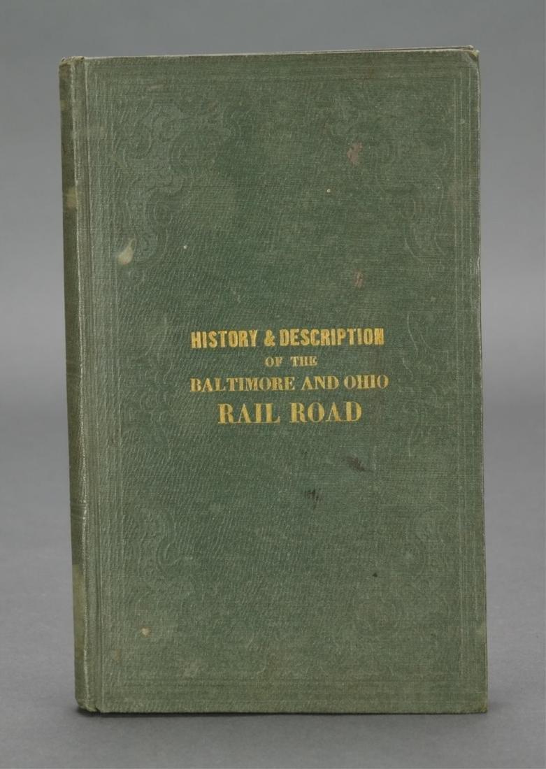 Smith. History of Baltimore & Ohio Rail Road. 1853