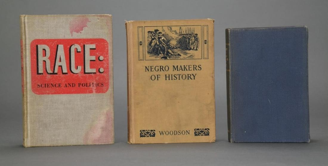 3 books owned by W.E.B. Du Bois.