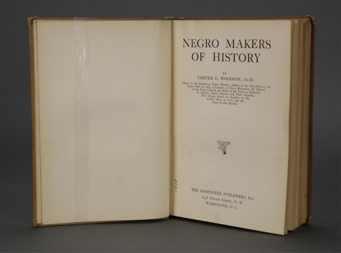 3 books owned by W.E.B. Du Bois. - 6