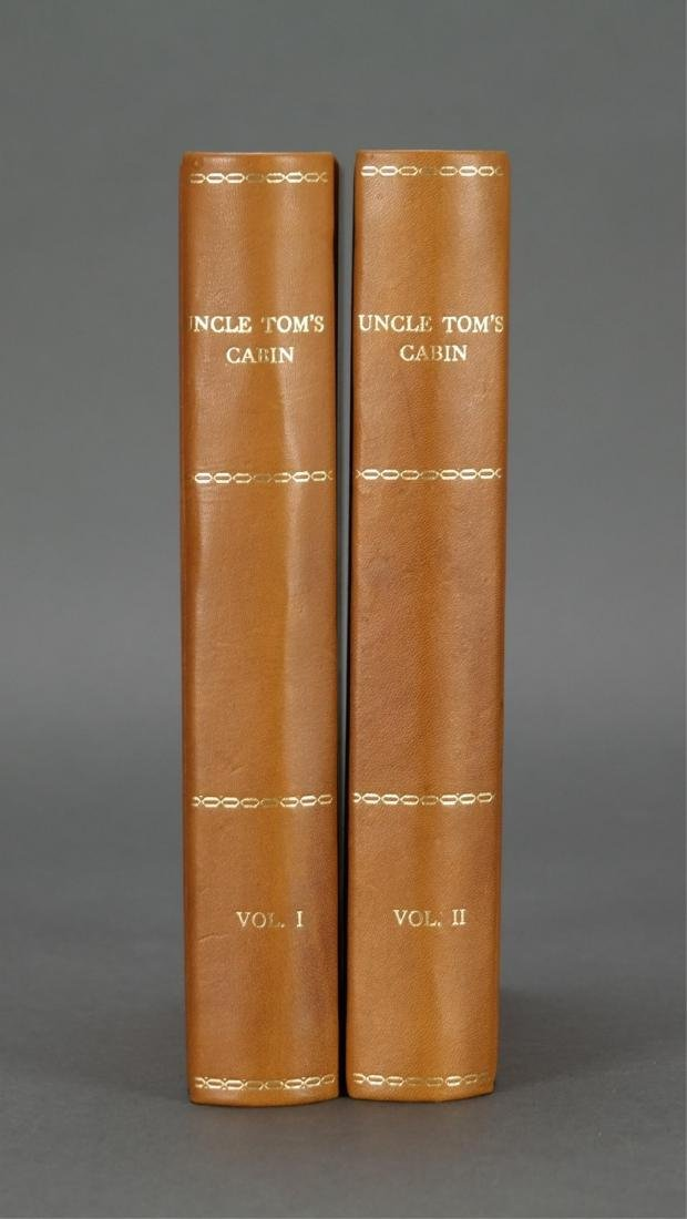 Stowe. Uncle Tom's Cabin. 1st ed, 1st printing.