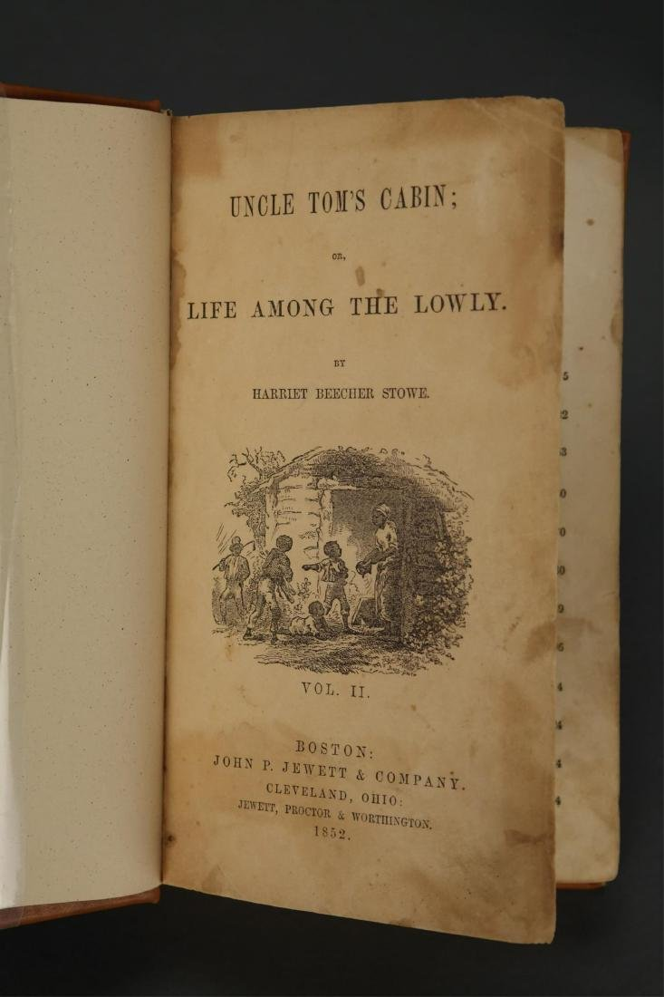 Stowe. Uncle Tom's Cabin. 1st ed, 1st printing. - 6