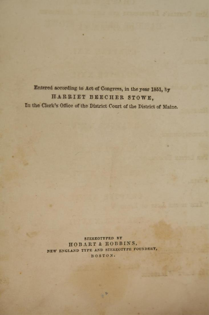 Stowe. Uncle Tom's Cabin. 1st ed, 1st printing. - 7