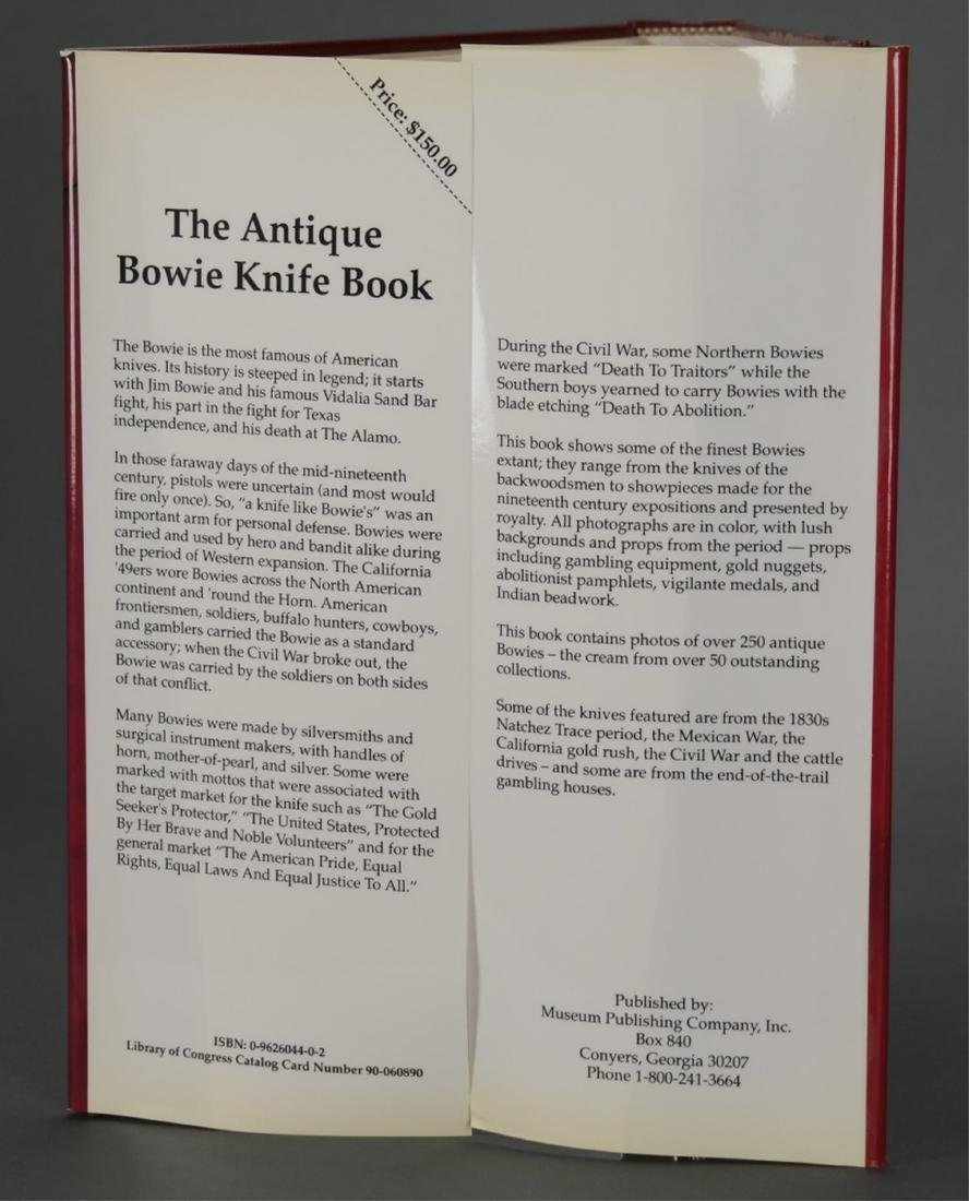 The Antique Bowie Knife Book. #44/500. - 4