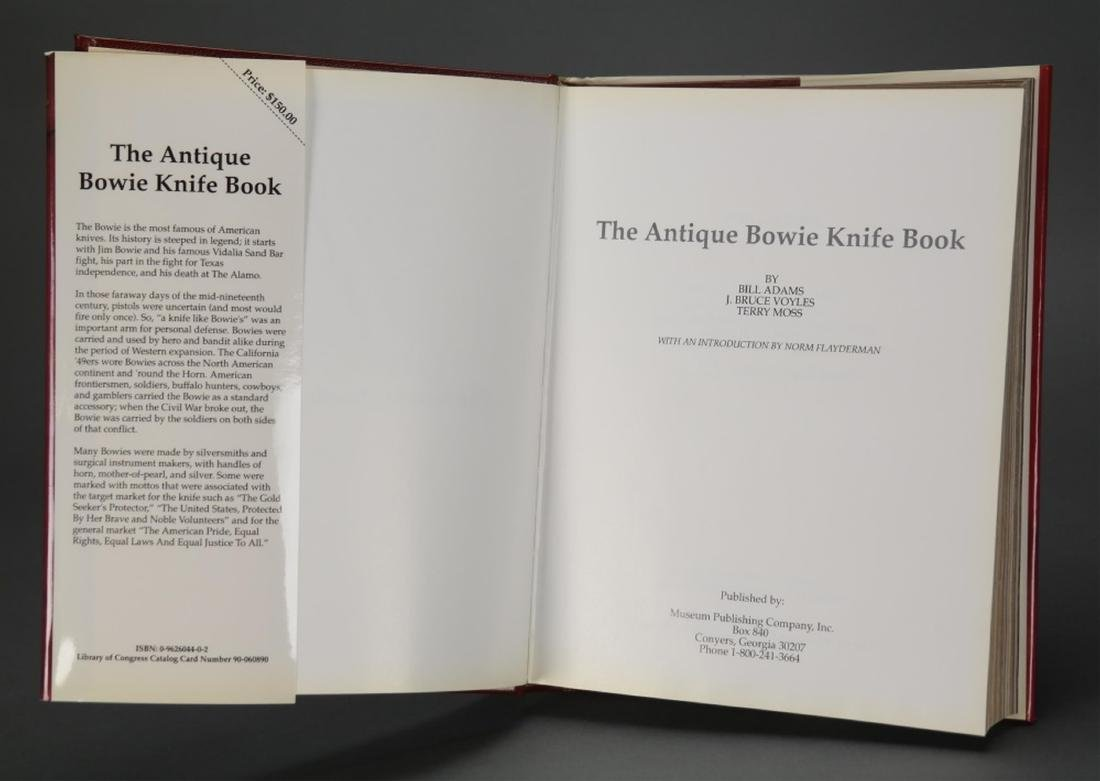 The Antique Bowie Knife Book. #44/500. - 5