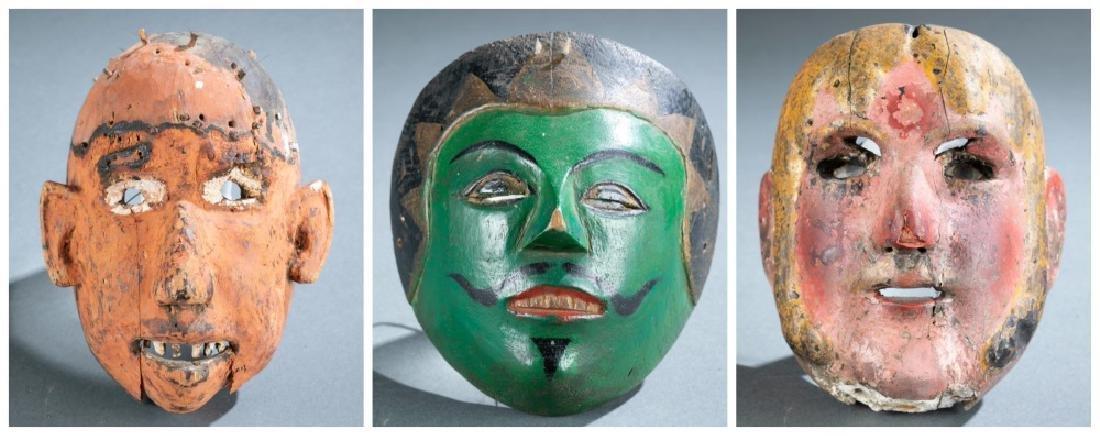 3 Ethnographic masks