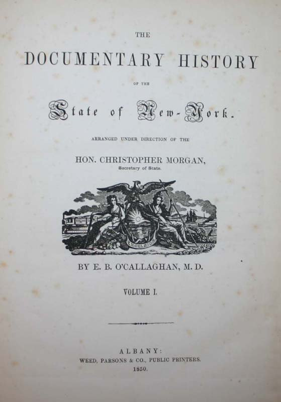 2007: Documentary History of the State of New-York, 185 - 3