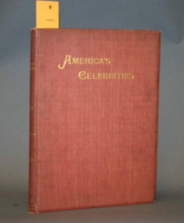 2008: AMERICA'S CELEBRITIES. Chicago: Conkey, 1895.