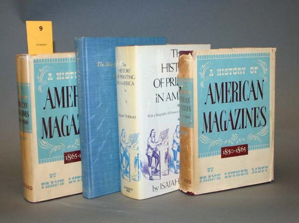 2009: A HISTORY OF AMERICAN MAGAZINES, vII-III; 2 other
