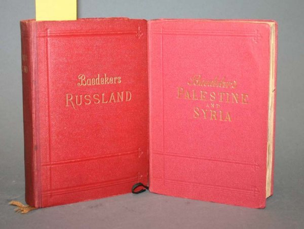 2017: Baedeker's RUSSLAND 1912; PALESTINE AND SYRIA 191