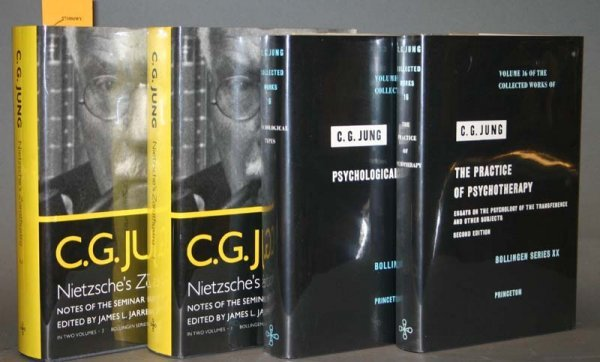 2019: C.G. Jung: 4 vols, incl *Nietzsche's Zarathustra*