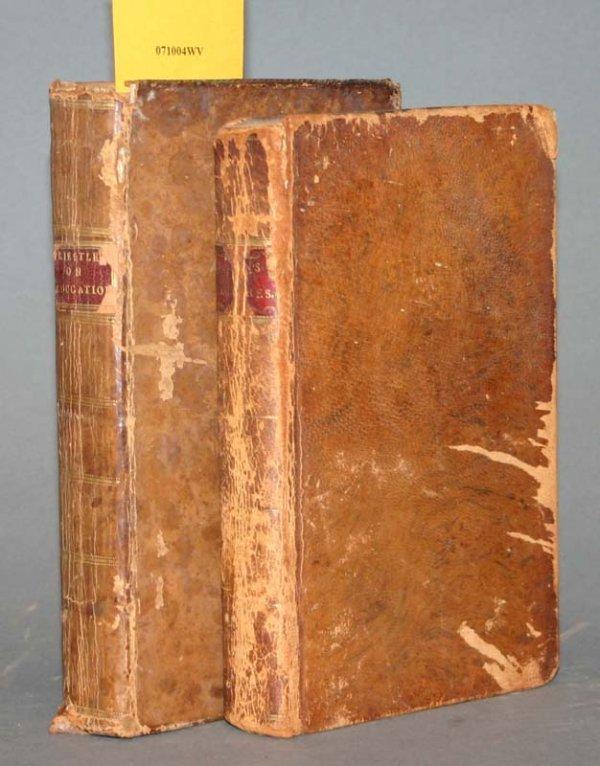 2021: Priestly, ...EDUCATION, 1780 + Burton, 1799.