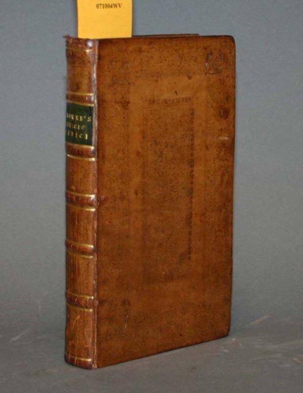 2024: Theodore Browne, RELIGIO MEDICI, 1736.