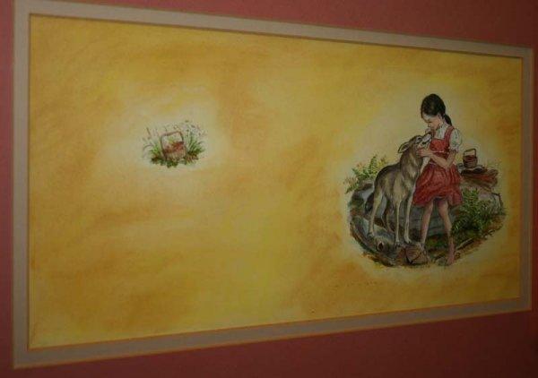 2210: Tasha Tudor watercolor from Carrie's Gift