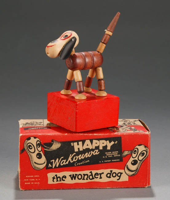 2004: Wakouwa ''Happy the Wonder Dog'' in original box