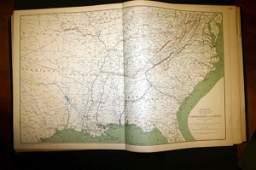 1112: Atlas...Union and Confederate Armies. 2v.