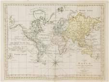 1293 Dunn A Chart of the World 1774
