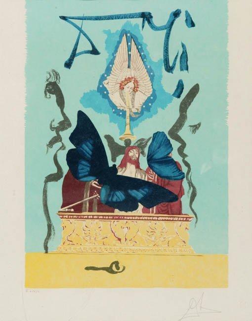 9: Salvador Dali, The Resurrection,'' signed
