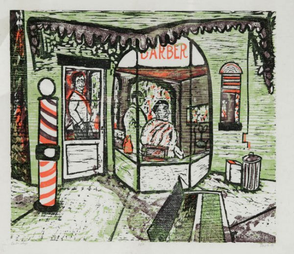 10: Ted Davies: 6 Color Woodcuts