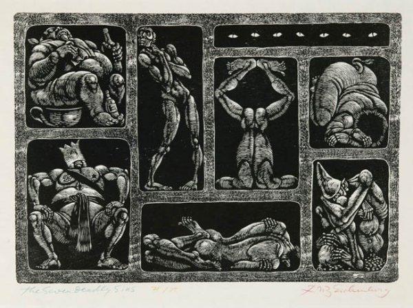 12: Fritz Eichenberg: The Seven Deadly Sins
