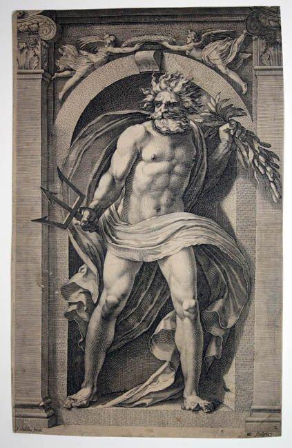 14: Goltzius. Neptune. c.1592