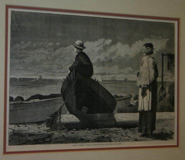 19: 2 Winslow Homer engravings