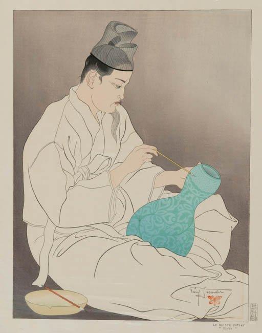 23: Paul Jacoulet: Le Maitre Potier ''Coree''
