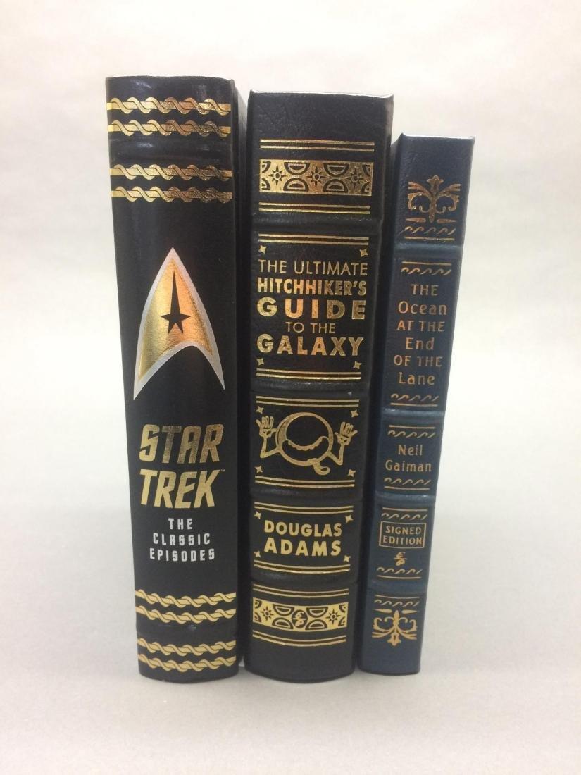 3 vols. Sci-Fi incl. Adams/Gaiman sgd. Easton etc.