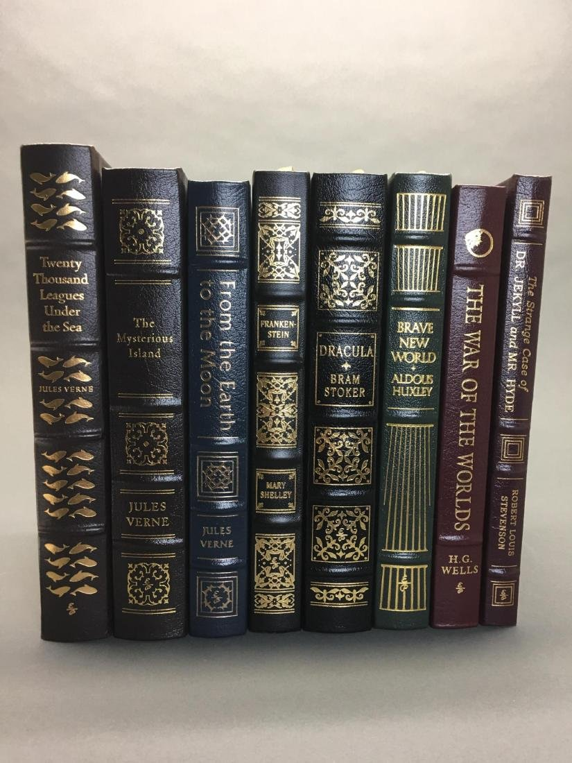 8 vols. Classics incl. Dracula. Easton.