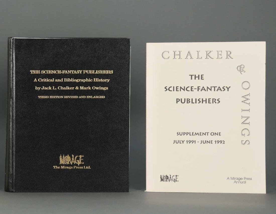 2 vols bibliographies. Inc: The Sci-Fi Publishers.