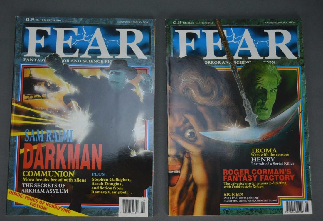 28 vols. Fear Magazine. Vols 1-25, 32-34. 1988-91.