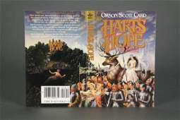 Card. Hart's Hope Uncorrected Proof. 1983.