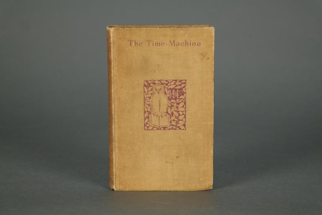 Wells. The Time Machine. 1st printing. NY. 1895.