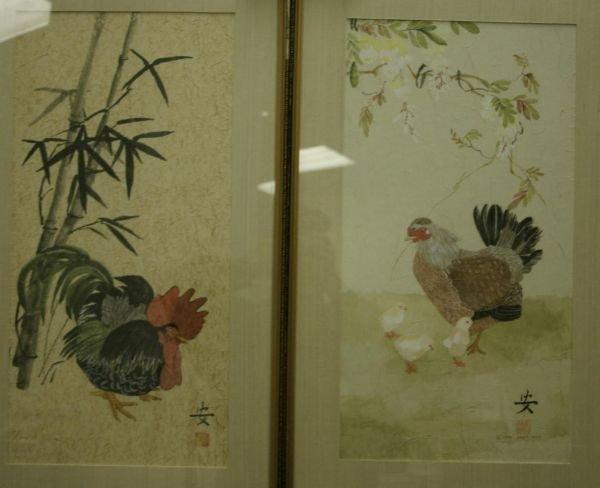 257: [Birds]. 2 Color Prints