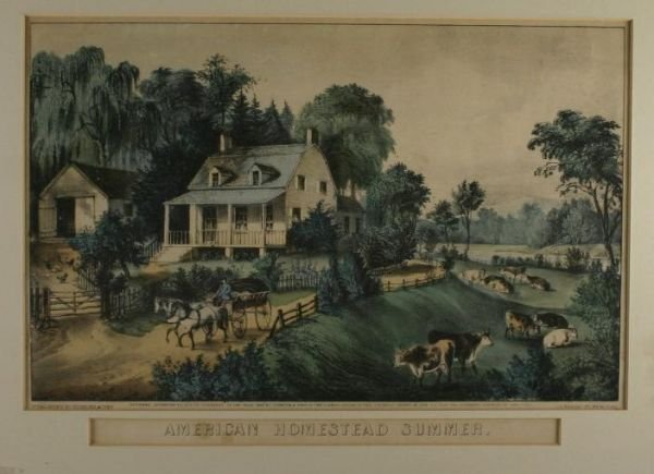 261: Currier & Ives. American Homestead Summer.