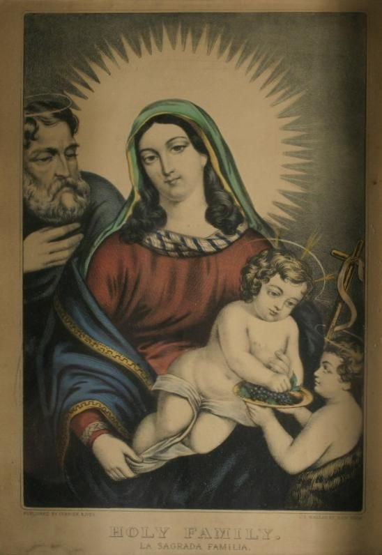 262: Currier & Ives. Holy Family.