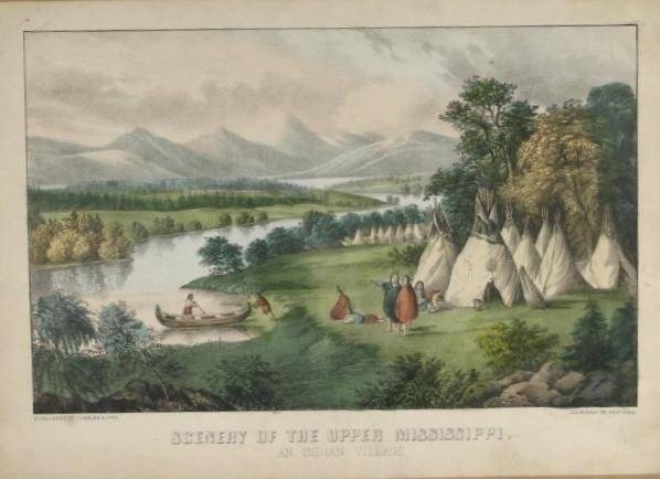 263: Currier & Ives. Scenery Of The Upper