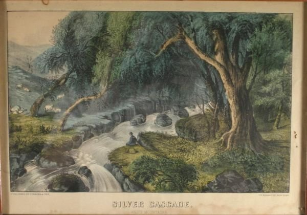 264: Currier & Ives. Silver Cascade.