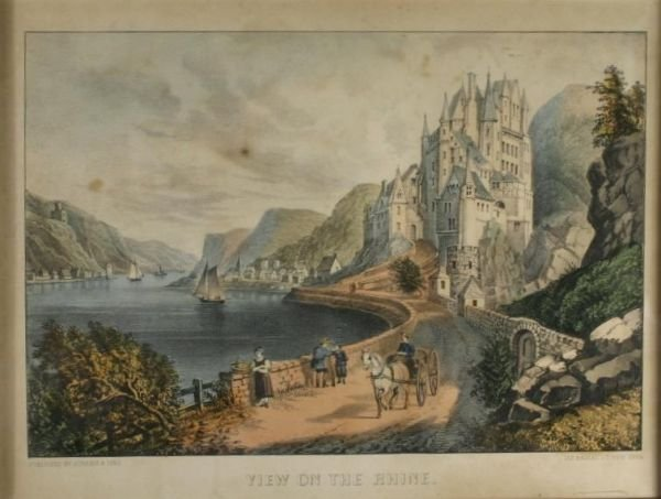 265: Currier & Ives. View On The Rhine.