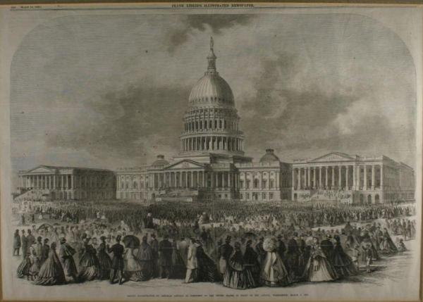 269: [Lincoln Inaugural]. Second Inauguration