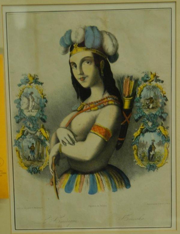 272: [Native American]. Westermann, K. Th. L'Amerique A