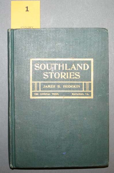 1: Hodgkin SOUTHLAND STORIES, 1903 signed & inscribed