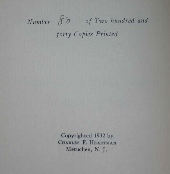 3: THE HUNT FOR RED OCTOBER, (1984), 1st & 2nd prtg's