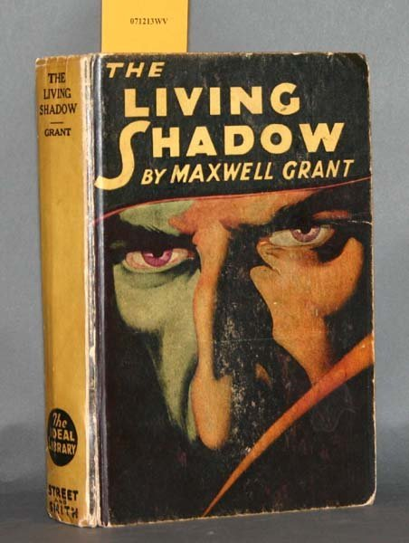 8: Maxwell Grant, THE LIVING SHADOW, (1931).