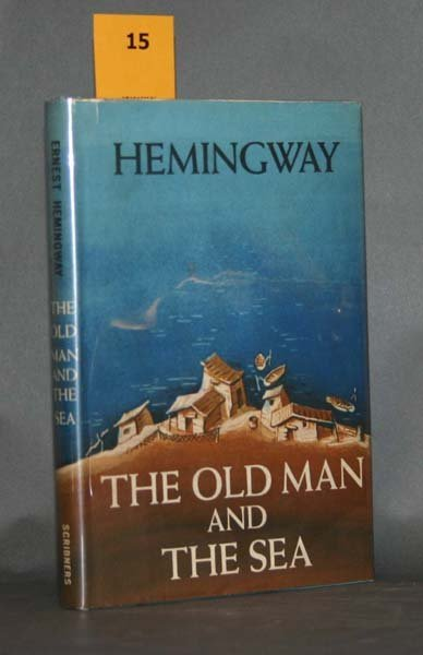 15: Hemingway, THE OLD MAN AND THE SEA, 1952, NF in dj
