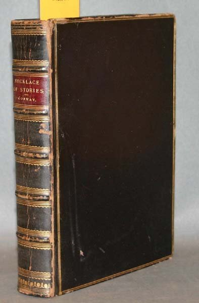 178: A NECKLACE OF STORIES 1880 w/ 25 original drawings