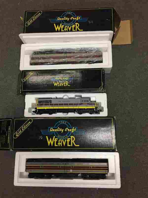 3 Weaver Diesel Engines.