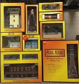 RailKing Accessories. Tower, Platform, Station etc