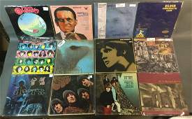 Selection of French  US Pressing Vinyl Records