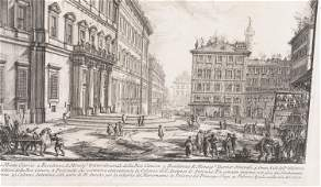 Piranesi Veduta della Gran Curia ca 1752