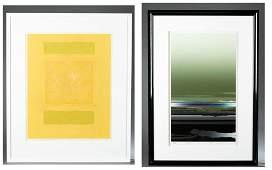 2 Japanese contemporary prints.